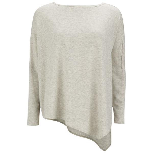 Helmut Lang Women's Asymmetric Sweatshirt - Fog Heather