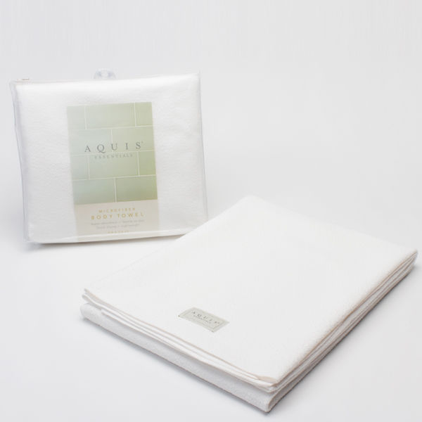 Aquis - Lisse Hair Towel White