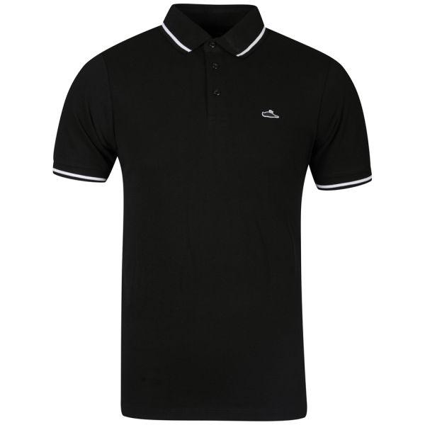 Atticus men 39 s sant polo shirt black clothing for Black polo shirt images
