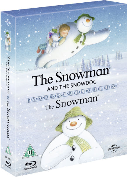 The Snowman The Snowman And The Snowdog Blu Ray