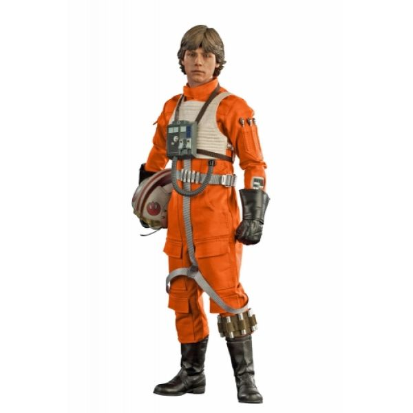 Sideshow Collectibles Star Wars Luke Skywalker Red Five X-Wing Pilot 1:6 Scale Figure