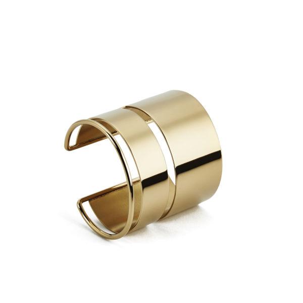 By Malene Birger Women's Hacia Cuff Bracelet - Gold