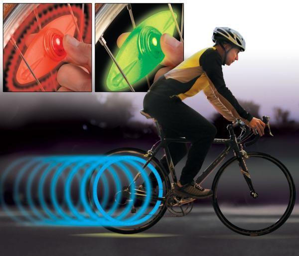 Lumière de vélo SpokeLit