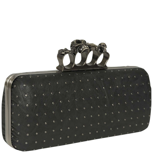 Religion Knuckle Duster Clutch Bag