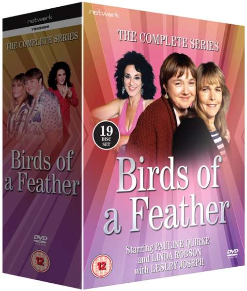 birds of a feather the complete series dvd zavvi. Black Bedroom Furniture Sets. Home Design Ideas