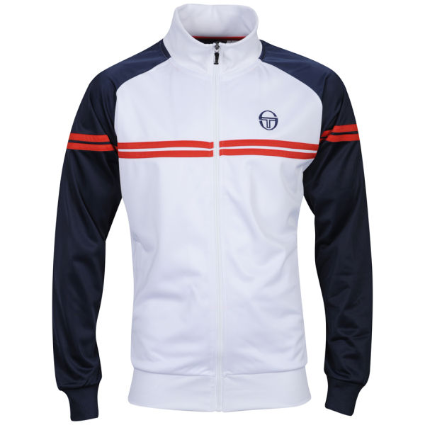 sergio tacchini men 39 s copper jacket white red navy. Black Bedroom Furniture Sets. Home Design Ideas