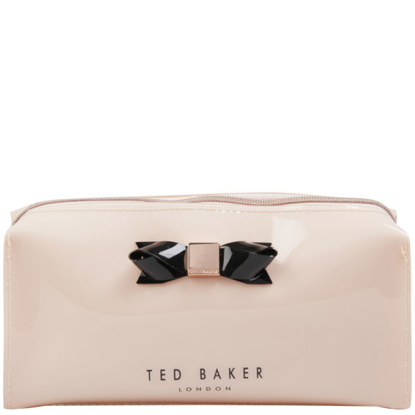 Ted Baker Jakko Bow Make Up Case Light Pink