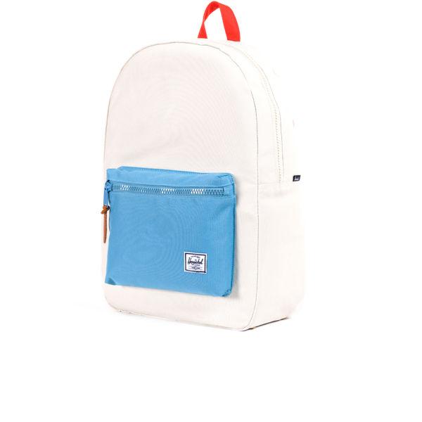 9d966b17d42c Herschel Supply Co. Settlement Backpack - White Blue Red Womens ...