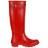 Barbour Women's Town and Country Wellington Boots - Red: Image 3
