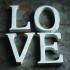 Nkuku Distressed Mango Wood Letters - Distressed White - N (15cm): Image 1