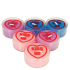 Love Hearts Tealights (Pack of 6)