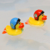 Wind Up Racing Ducks