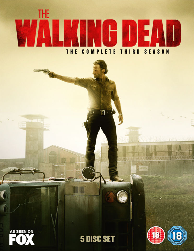 The Walking Dead Season 3 Dvd Zavvi