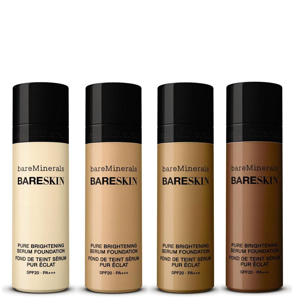 bareMinerals bareSkin Pure Brightening Serum Foundation SPF20 in Bare Tan
