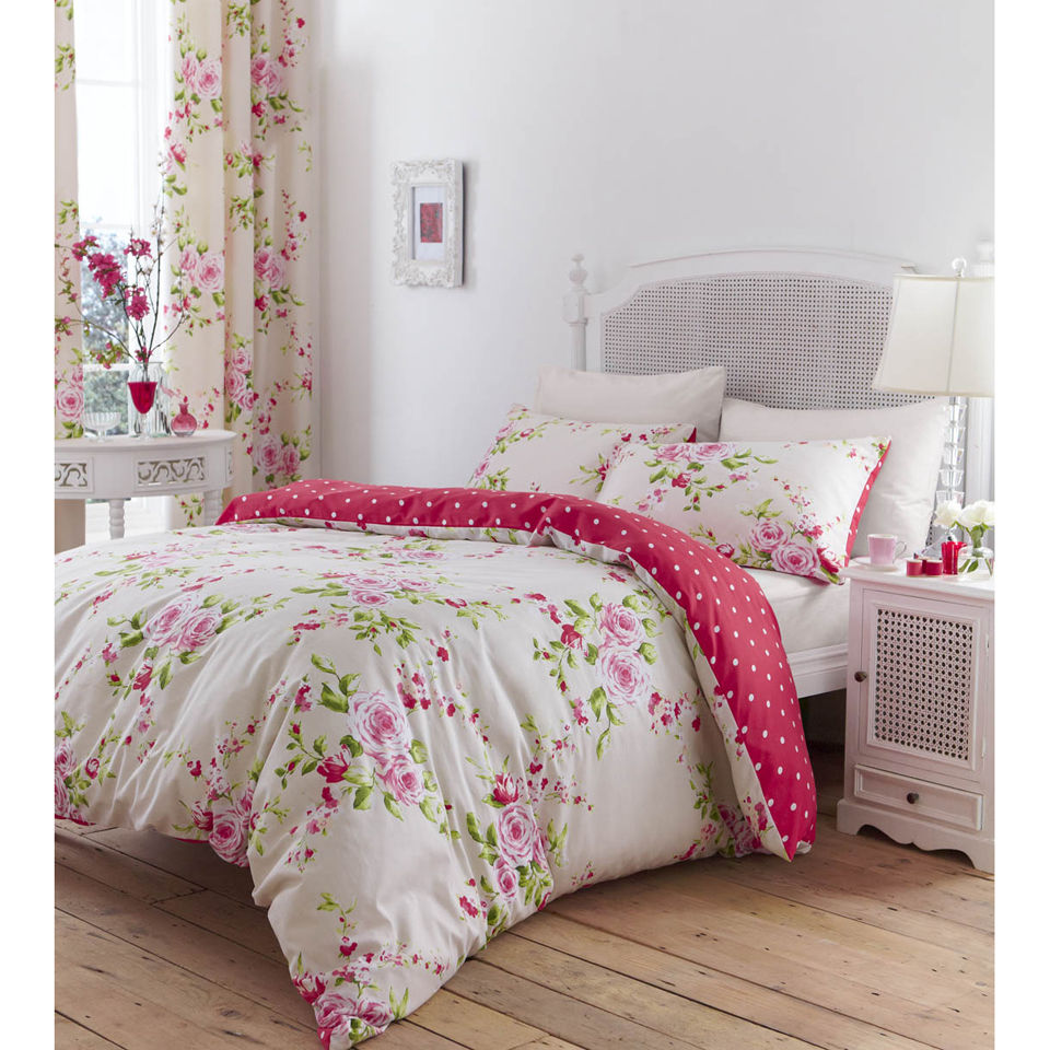 catherine-lansfield-canterbury-double-bedding-set-red