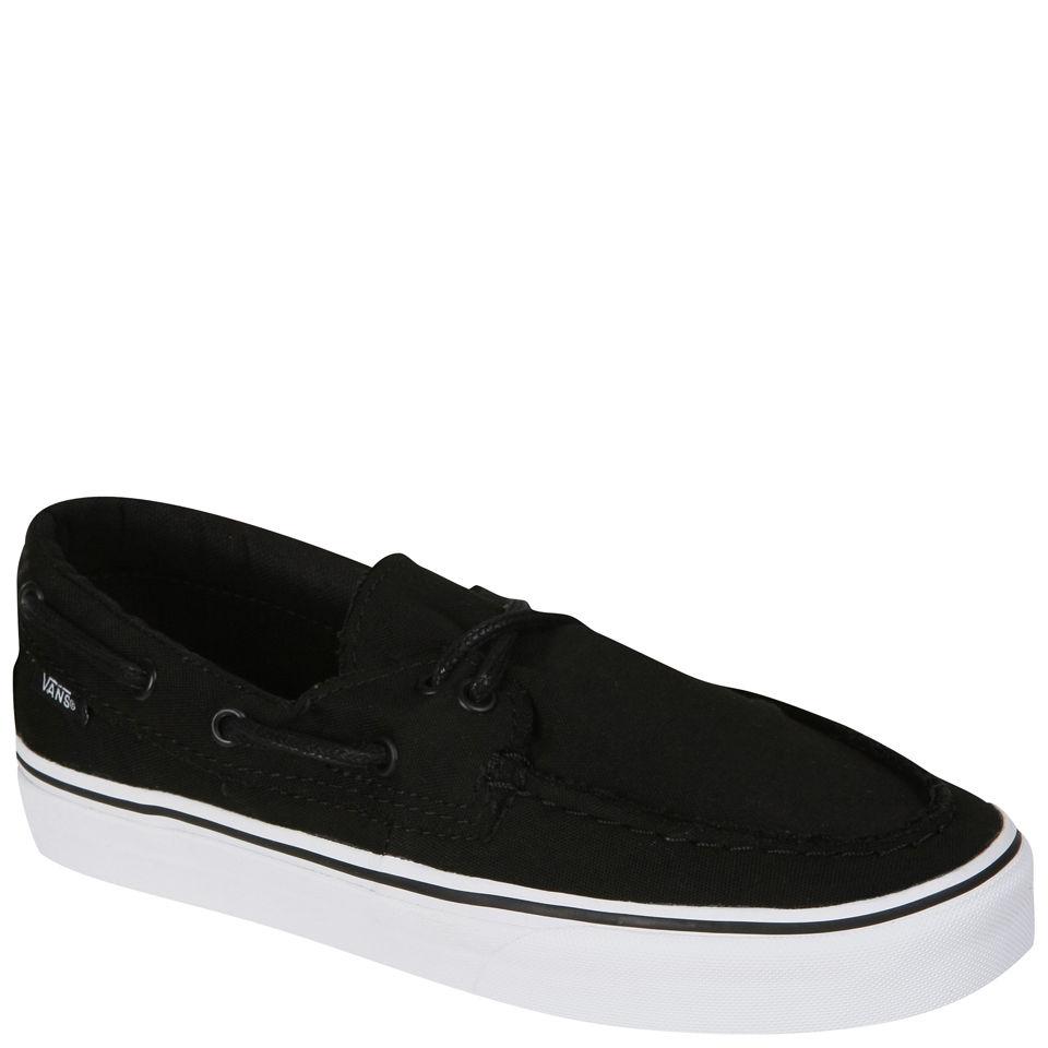 Vans Zapato Del Barco Canvas Deck Shoes BlackTrue White