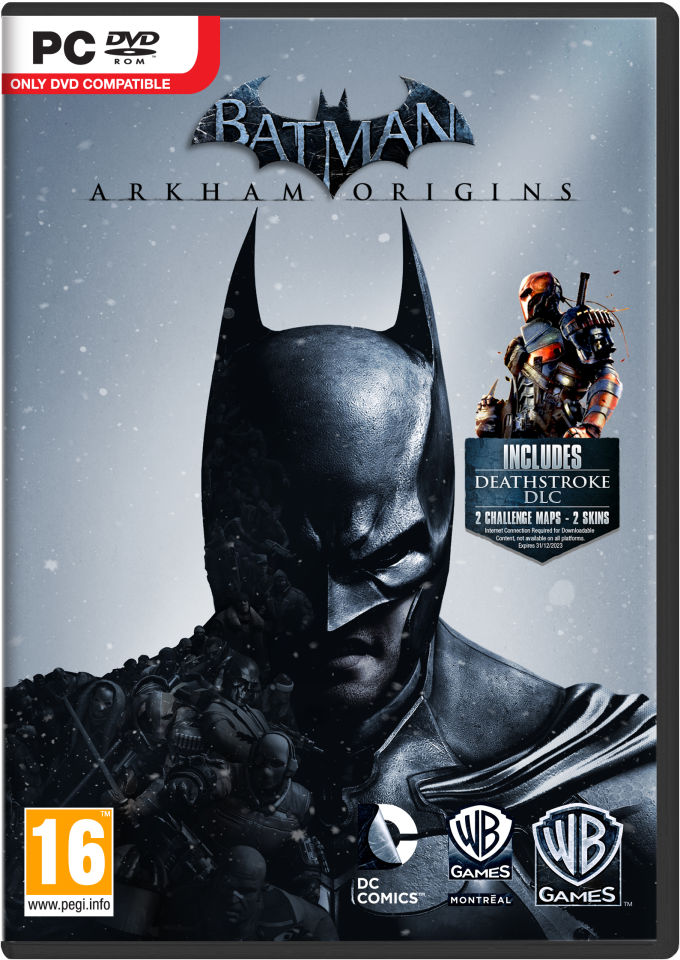 Batman Arkham Origins Pc Zavvi