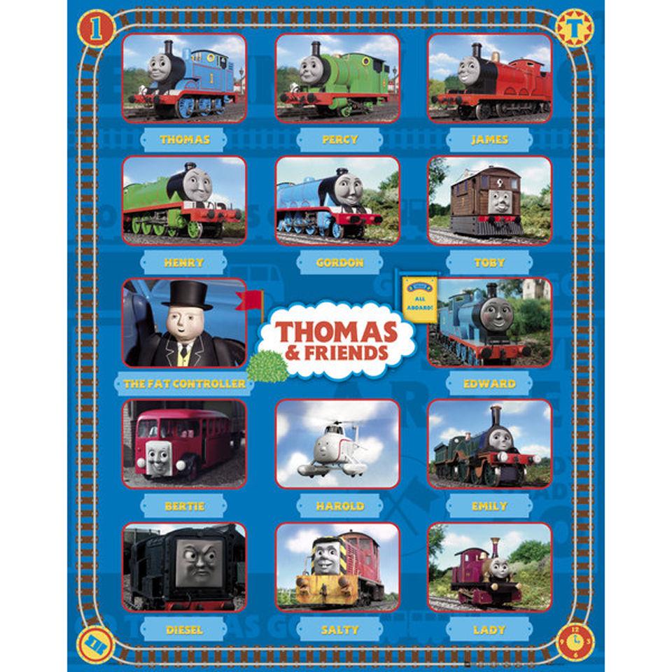 thomas-friends-characters-mini-poster-40-x-50cm