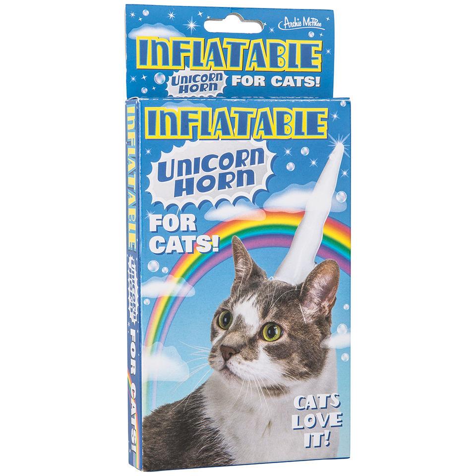 Cuerno Unicornio Hinchable para Gato