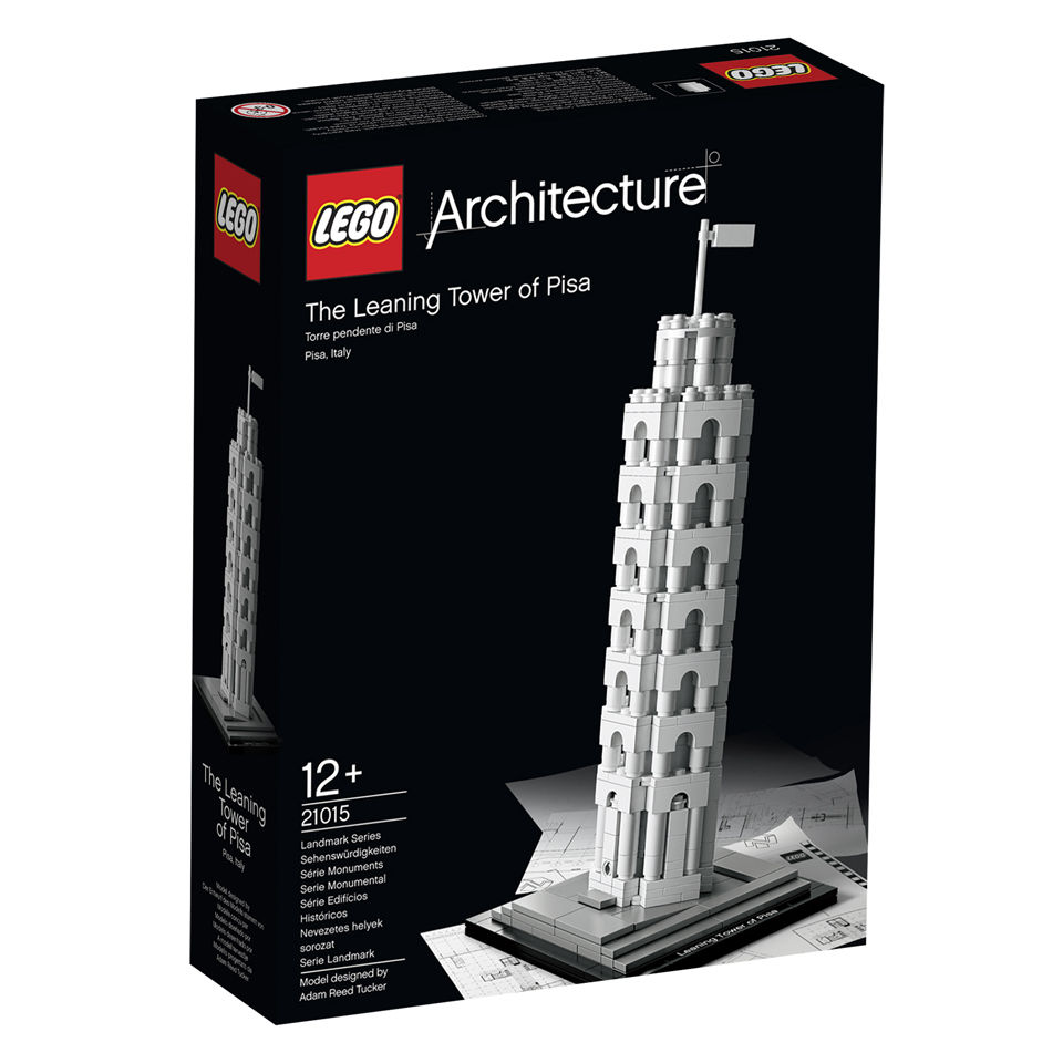 LEGO Architecture: The Leaning Tower of Pisa (21015) Toys ...