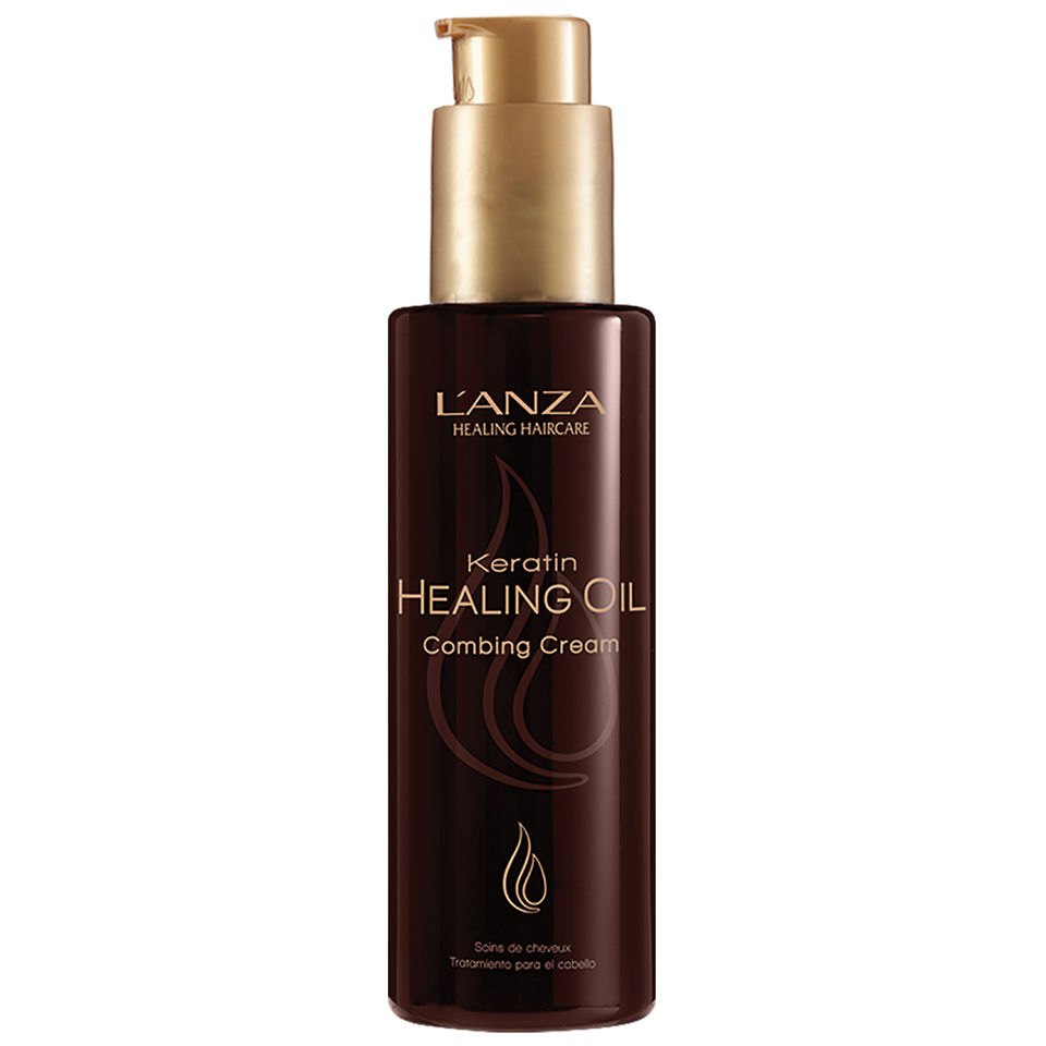 L'Anza Keratin Healing Oil Combing Cream (140ml)   HQ Hair