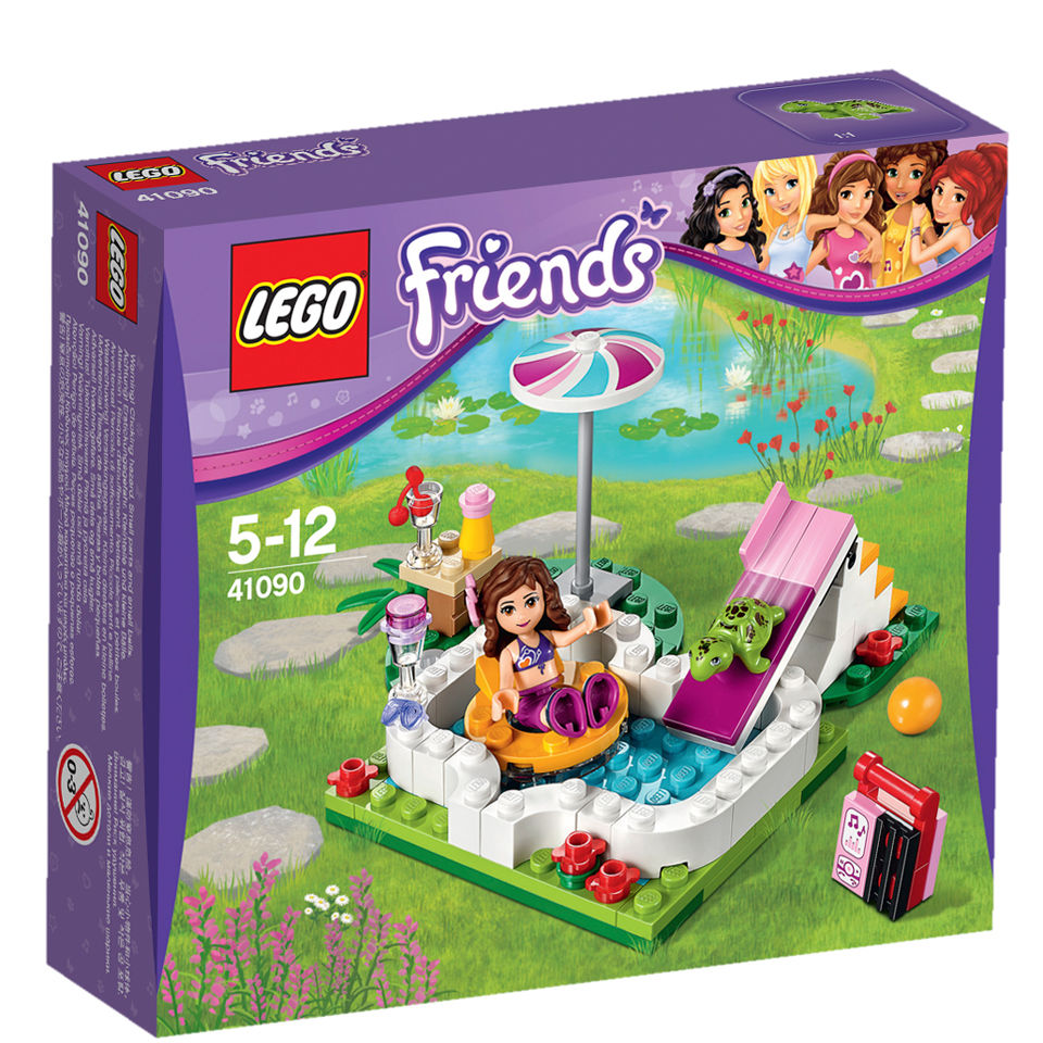Lego friends olivia 39 s garden pool 41090 toys for Lego friends olivia s garden pool 41090