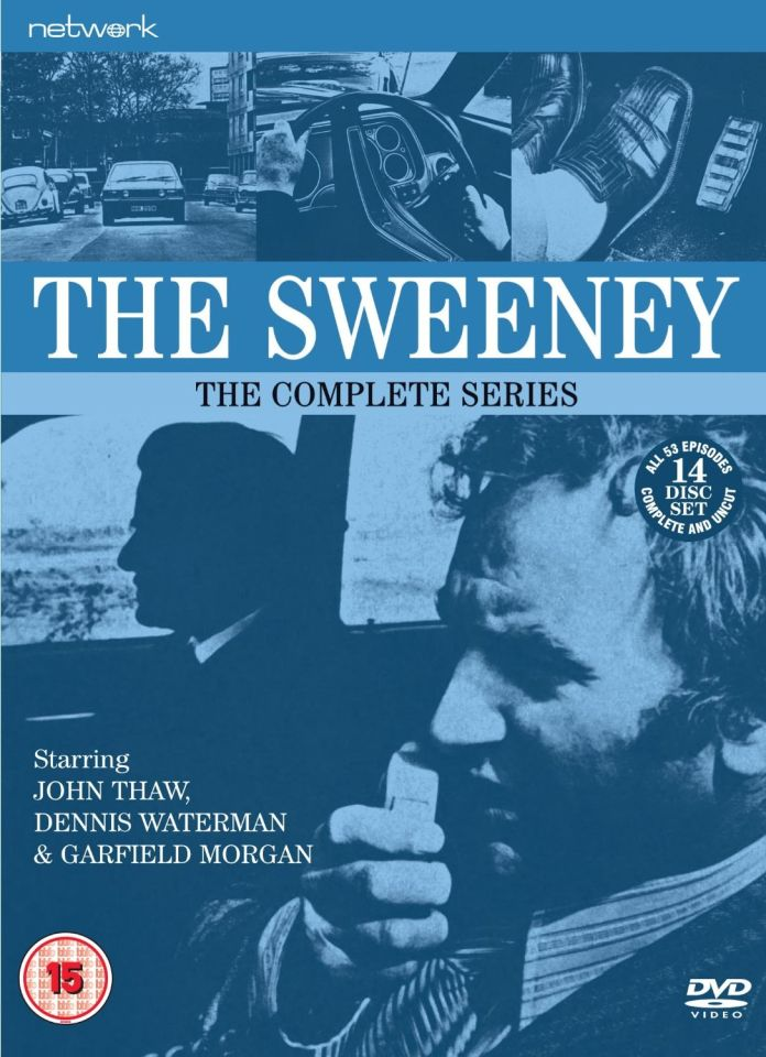 The Sweeney The Complete Series Dvd Zavvi