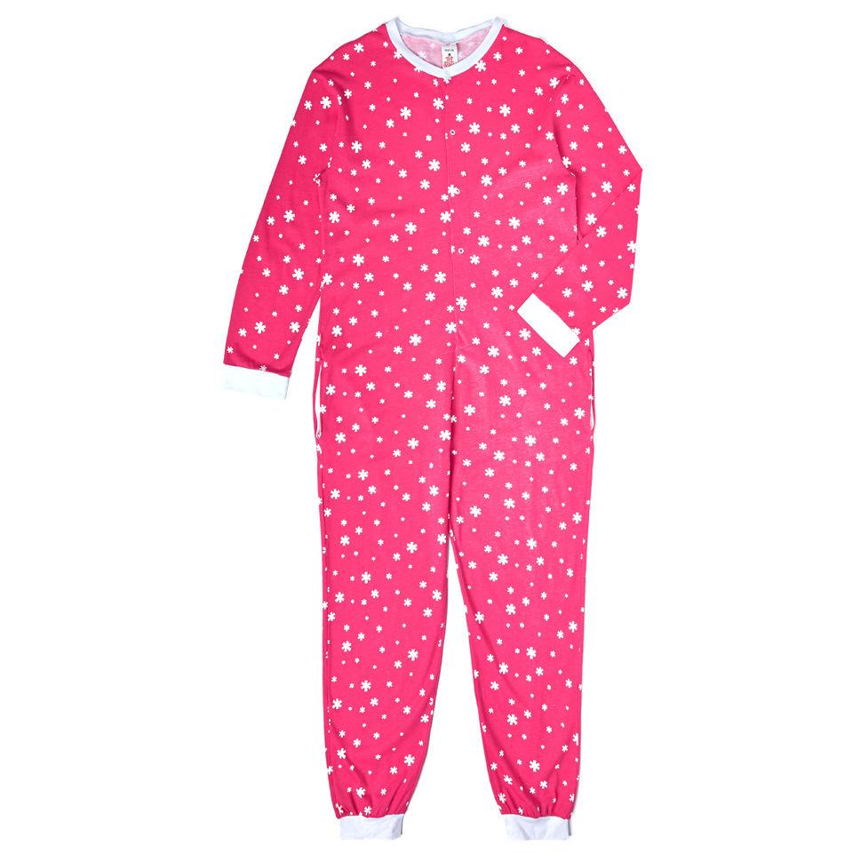 women-star-print-onesie-pink