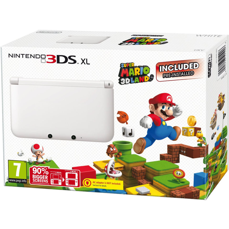 Nintendo 3ds Xl Console Limited Edition Ice White