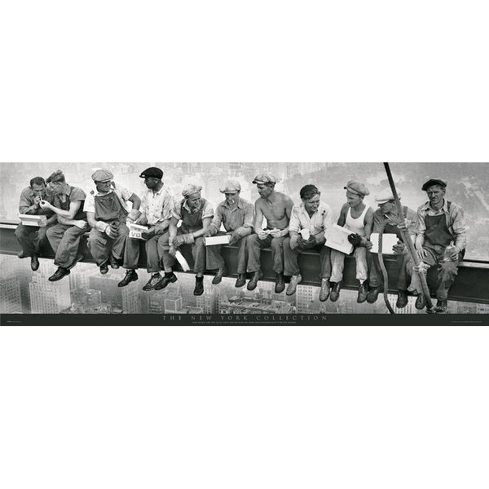 new-york-men-on-girder-door-poster-53-x-158cm