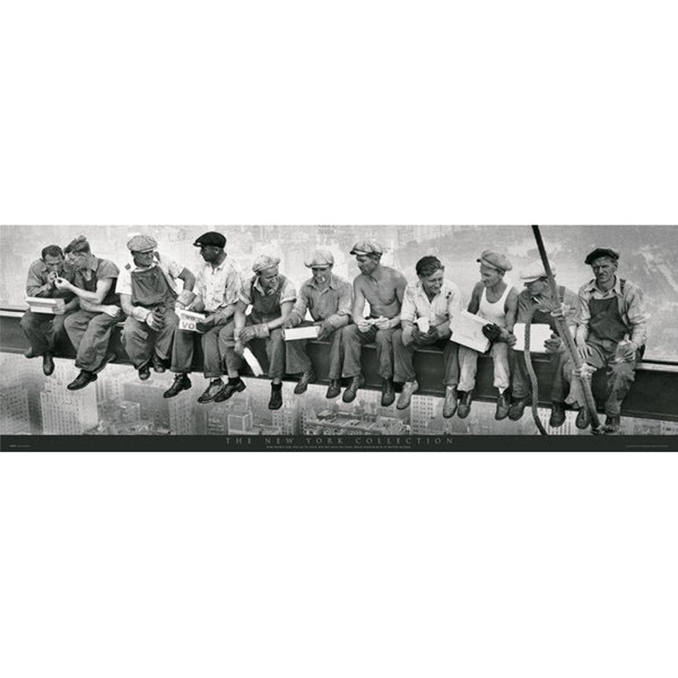 new-york-men-on-girder-door-poster-53-x-158cm