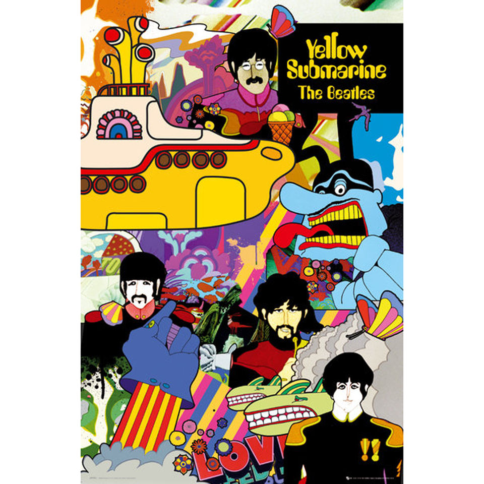 the-beatles-yellow-submarine-maxi-poster-61-x-915cm