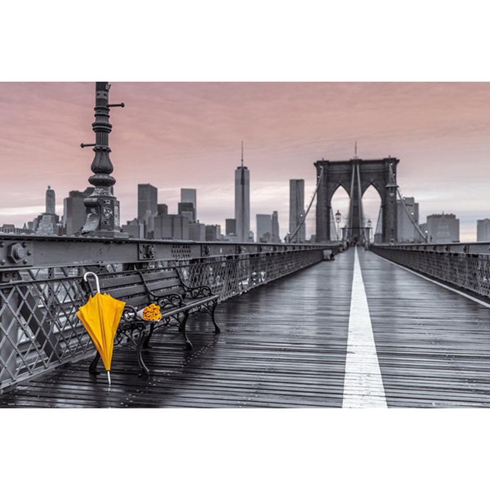 assaf-frank-brooklyn-bridge-umbrella-maxi-poster-61-x-915cm