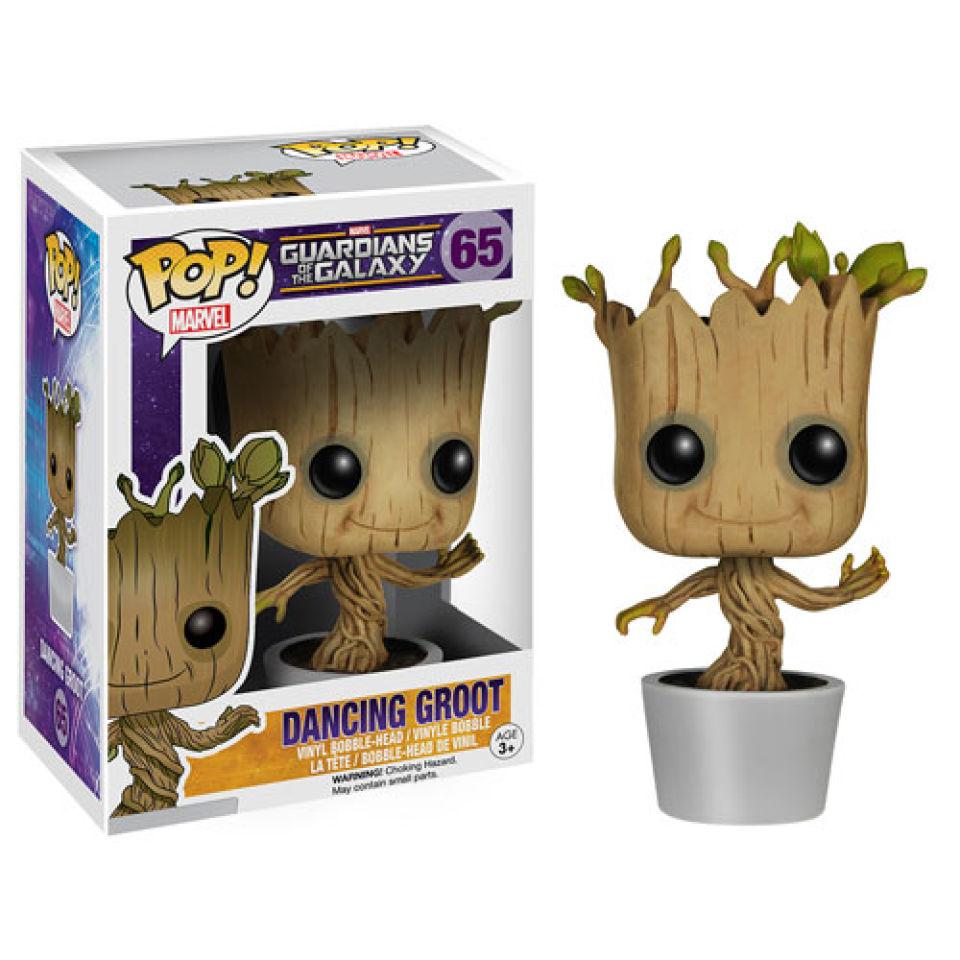Marvel Guardians of the Galaxy Dancing Groot Pop! Vinyl Figur