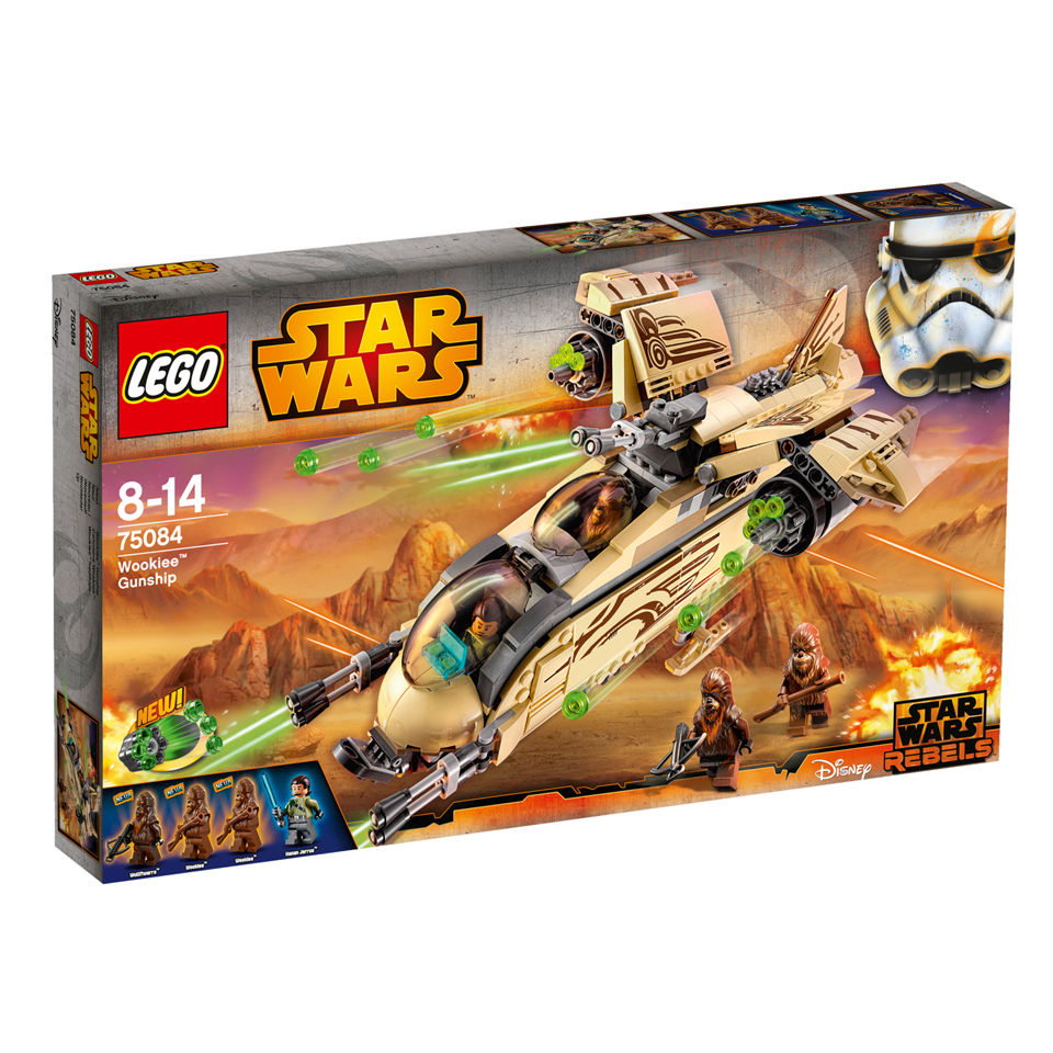 Lego star wars wookiee gunship 75084 toys - Stars wars vaisseau ...