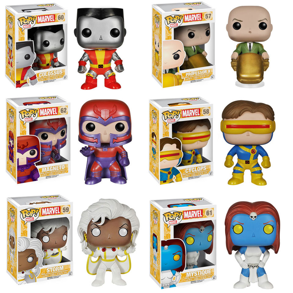 Marvel X Men Classic Pop Vinyl Figure Bundle Pop In A