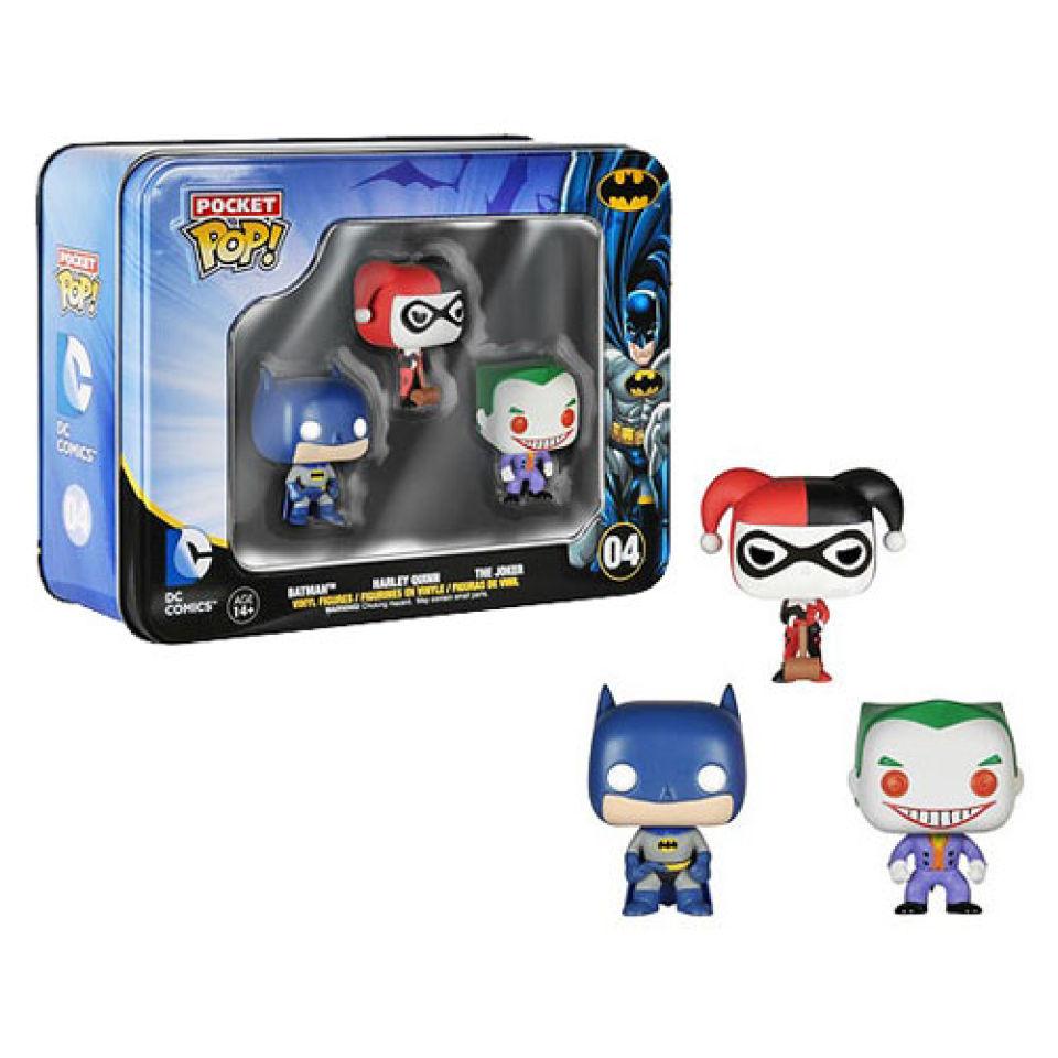 DC Comics Batman Pocket Mini 3er Pack Funko Pop! Figuren