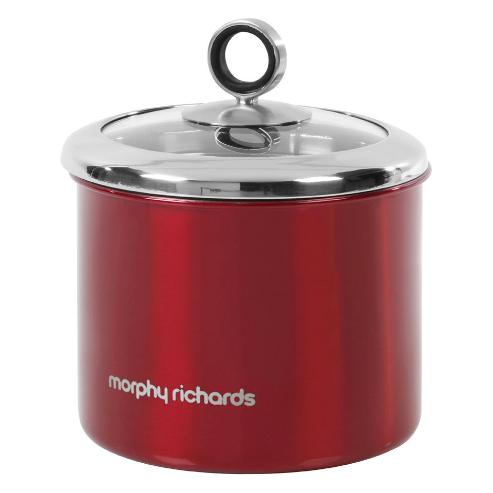 morphy-richards-accents-small-storage-canister-red
