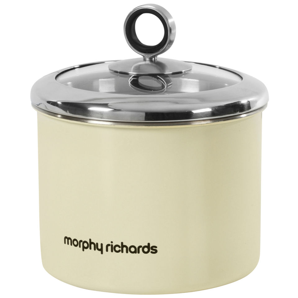 morphy-richards-accents-small-storage-canister-cream