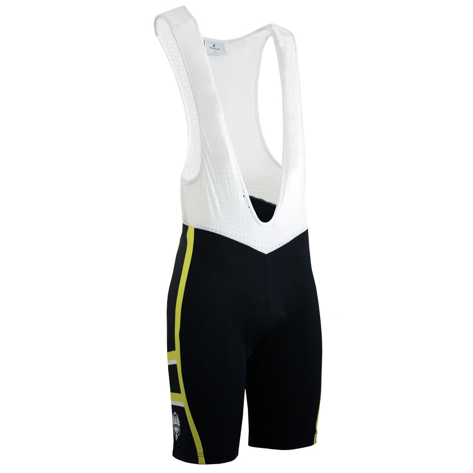 bianchi-rometta-cycling-bib-shorts-black-yellow-xxl