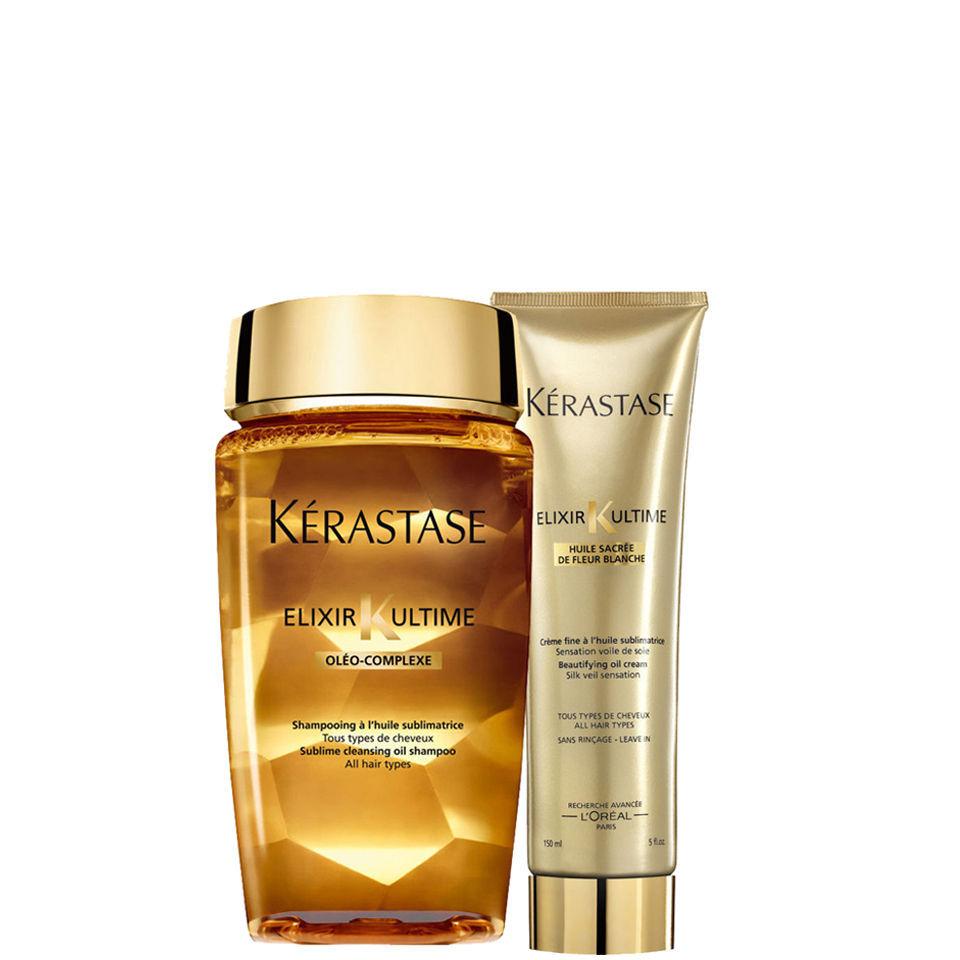 K rastase elixir ultime huile lavante bain 250ml and for Kerastase bain miroir reviews