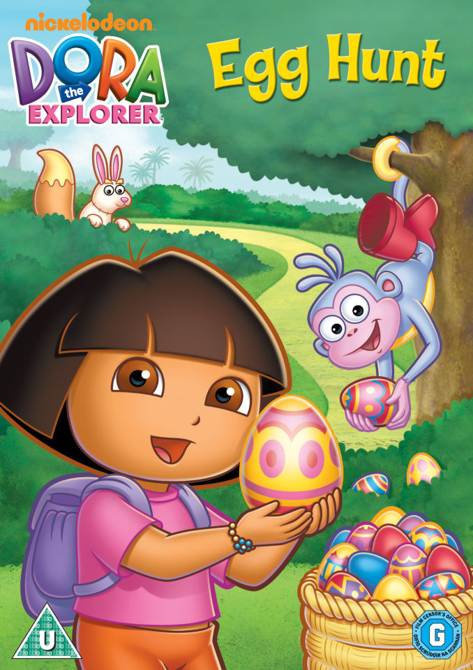 dora-the-explorer-egg-hunt