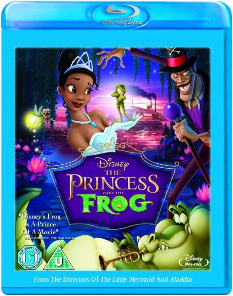 the-princess-the-frog-single-disc