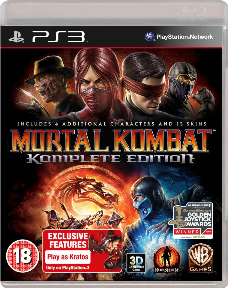 Mortal Kombat: Komplete Edition PS3 | Zavvi