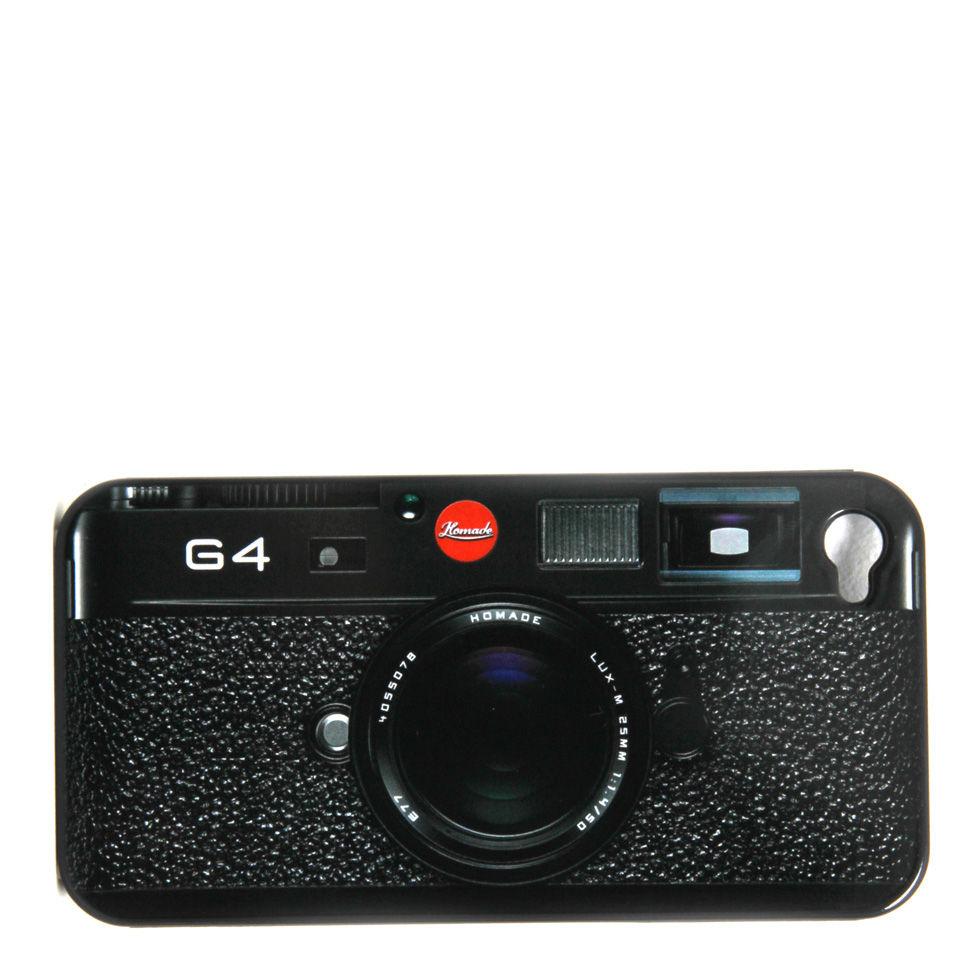 Ausgefallengadgets - G4 Kamera Design Hülle für iPhone 4 - Onlineshop Sowas Will Ich Auch