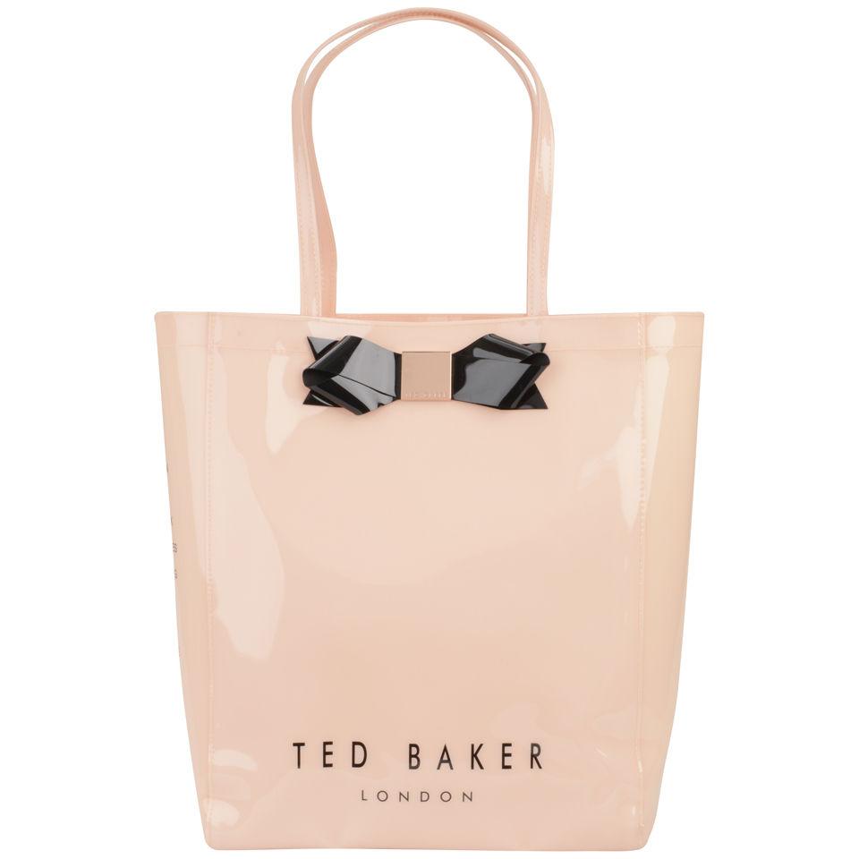 Ted Baker Juhlalaukku : Ted baker larcon bow icon bag light pink