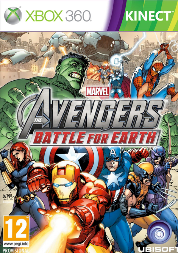 avengers  battle for earth  kinect  xbox 360