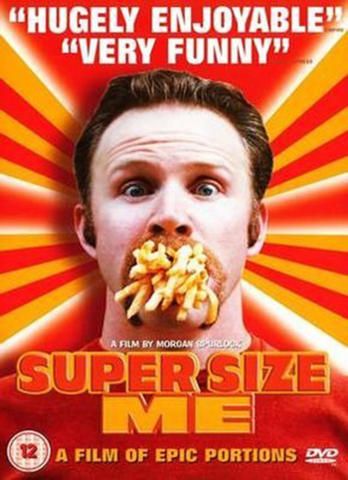 thirty days of mcdonalds in supersize me a film documentary by morgan spurlock