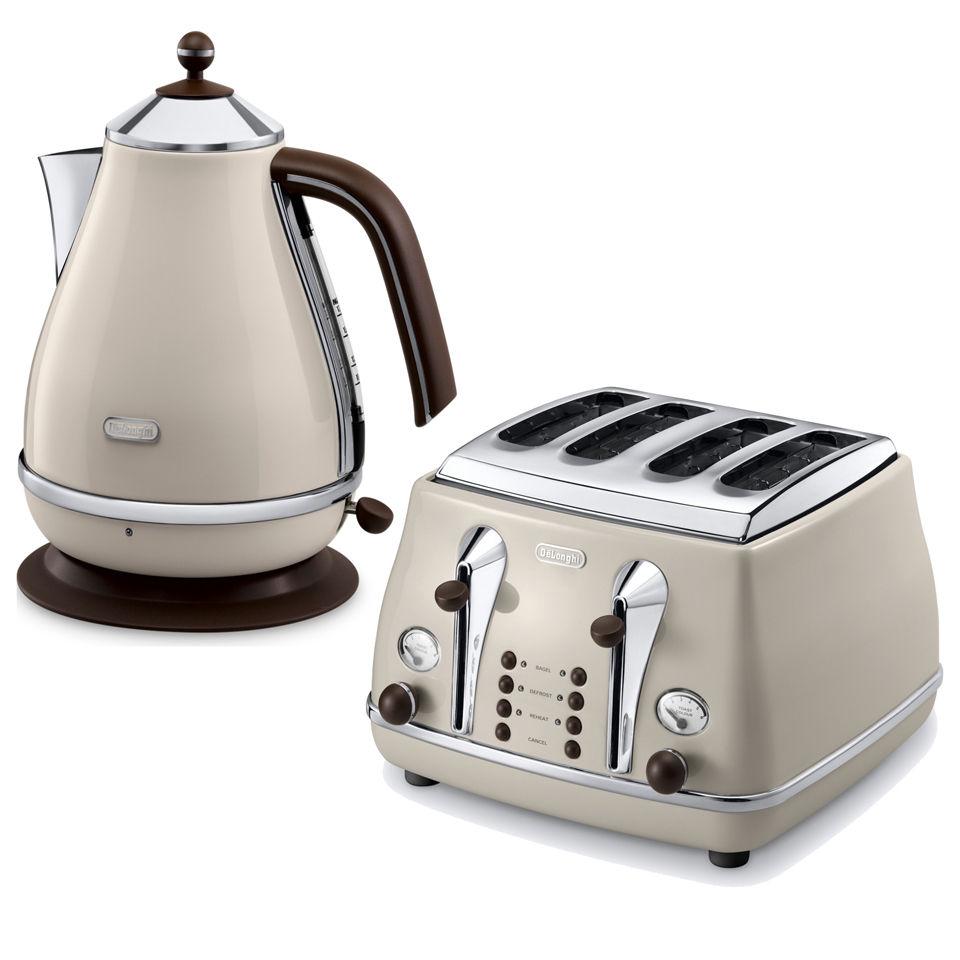 delonghi-icona-vintage-4-slice-toaster-kettle-bundle-beige