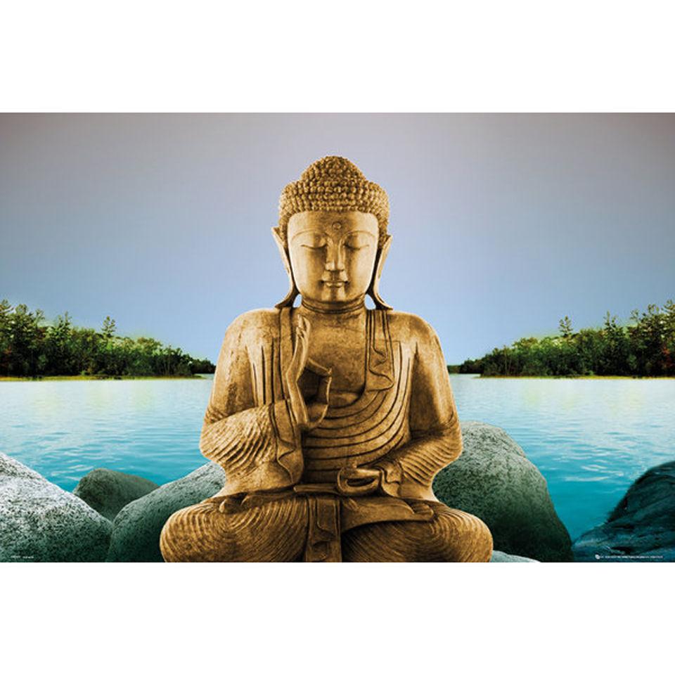 zen-buddha-lake-maxi-poster-61-x-915cm